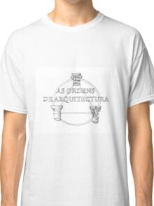 As Ordens de Arquitectura. Architecture Orders Classic T-Shirt
