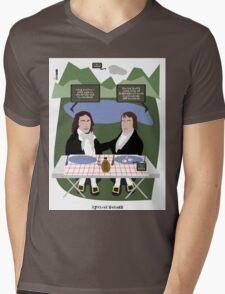 Lyrical Salads Mens V-Neck T-Shirt