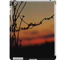 Under a blood red sky iPad Case/Skin