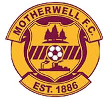 Motherwell FC Badge - Scottish Premier League Photographic Print