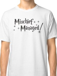 Harry Potter Mischief Managed Classic T-Shirt