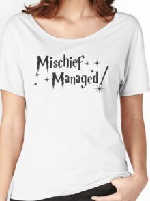 Harry Potter Mischief Managed Women's Relaxed Fit T-Shirt