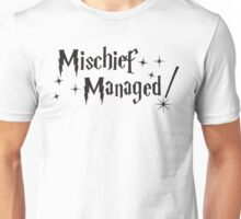 Harry Potter Mischief Managed Unisex T-Shirt
