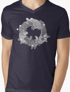 Circle of LIfe Mens V-Neck T-Shirt