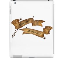 Harry Potter Mischief Managed iPad Case/Skin