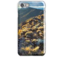 Mt Speculation across to Mt Cobbler  iPhone Case/Skin