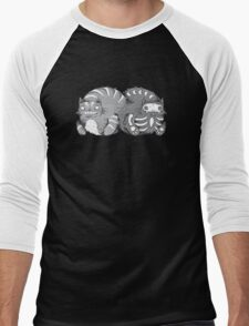 Quantum Cat Curiosity Men's Baseball ¾ T-Shirt