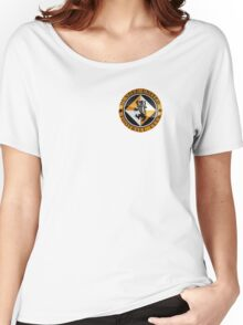 Dundee United Badge - Scottish Premier League Women's Relaxed Fit T-Shirt
