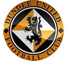 Dundee United Badge - Scottish Premier League Photographic Print