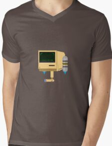 Computer Guy Mens V-Neck T-Shirt