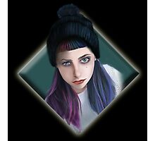 punky girl Photographic Print