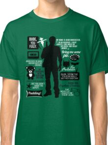 Dean Winchester Quotes Classic T-Shirt