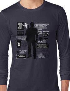 Dean Winchester Quotes Long Sleeve T-Shirt