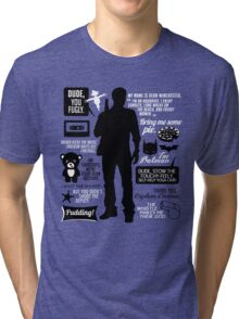 Dean Winchester Quotes Tri-blend T-Shirt