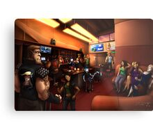Vaelidian bar and grill Metal Print