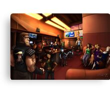 Vaelidian bar and grill Canvas Print