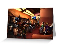 Vaelidian bar and grill Greeting Card