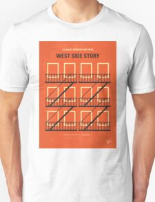 No387 My West Side Story minimal movie poster Unisex T-Shirt