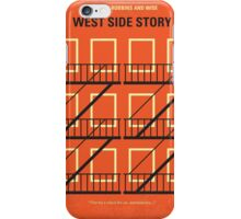 No387 My West Side Story minimal movie poster iPhone Case/Skin