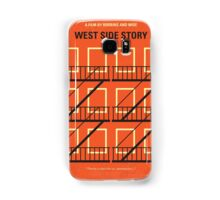 No387 My West Side Story minimal movie poster Samsung Galaxy Case/Skin