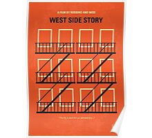 No387 My West Side Story minimal movie poster Poster
