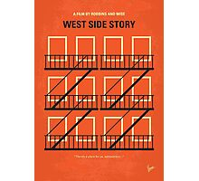 No387 My West Side Story minimal movie poster Photographic Print