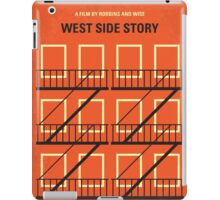 No387 My West Side Story minimal movie poster iPad Case/Skin