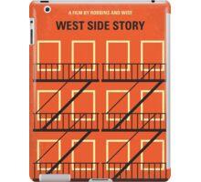 No387 My West Side Story minimal movie poster iPad Case/Skin