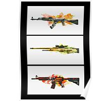 CS GO WEAPONS ROOM POSTER Poster