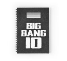 bigbang 10th Spiral Notebook