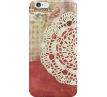 Alice lace collage iPhone Case/Skin
