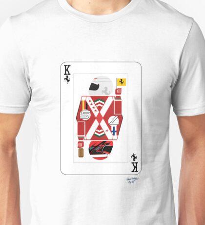 Kings Of Formula 1 - Sebastian Vettel & Kimi Raikkonen Unisex T-Shirt