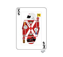 Kings Of Formula 1 - Sebastian Vettel & Kimi Raikkonen Photographic Print