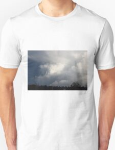 """""""His way is in whirlwind and storm, and the clouds are the dust of his feet."""" T-Shirt"""