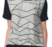 Lines and Lines Chiffon Top