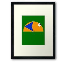 Slime (90's <3) Framed Print