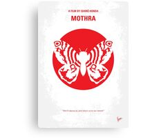 No391 My Mothra minimal movie poster Canvas Print
