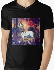 The last Unicorn Mens V-Neck T-Shirt