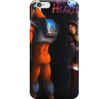 Ace of Hearts Poster iPhone Case/Skin