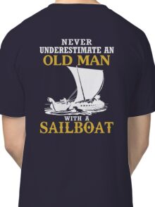 Old Man With A Sailboat Classic T-Shirt