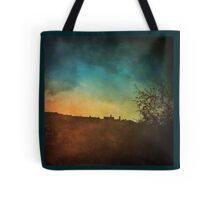 Sunset on an Unknown Italian Town Tote Bag