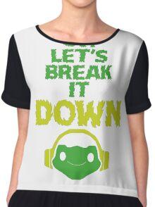 Oh, let's break it DOWN! Chiffon Top