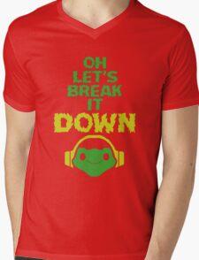 Oh, let's break it DOWN! Mens V-Neck T-Shirt