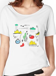 Cactus Mountain Women's Relaxed Fit T-Shirt