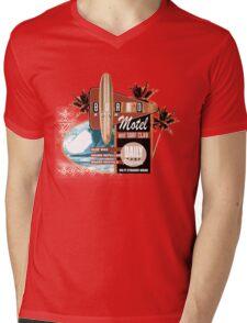 surf motel Mens V-Neck T-Shirt