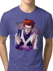 Hunter x Hunter- Hisoka Tri-blend T-Shirt