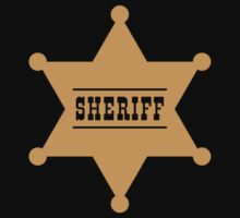 Sheriff's Star Kids Tee