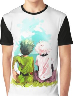 Hunter x Hunter-Gon Freecss & Killua Zoldyck Graphic T-Shirt