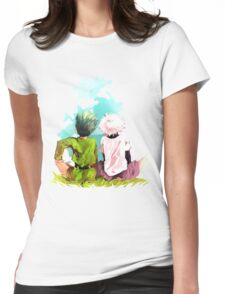 Hunter x Hunter-Gon Freecss & Killua Zoldyck Womens Fitted T-Shirt