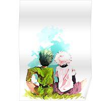 Hunter x Hunter-Gon Freecss & Killua Zoldyck Poster